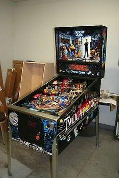 1993 Bally Twilight Zone Pinball Arcade Vintage Machine WORKING-CONDITION  (eBay Link)