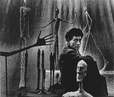Gordon Parks (American, 1912-2006), Alberto Giacometti, Paris, 1951