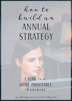 In today's tutorial, I'm going to walk you through how to build an annual strategy for your business. You'll find step-by-step instructions on planning a stellar and profitable year. This exercise is an excerpt from the best-selling Your Best Year 2017: Productivity Workbook and Online Business Planner. Just look at how online entrepreneurs are growing faster and profiting more every day because of Your Best Year 2017 … Trust that I'm not sharing testimonials to sell this book to you, but…