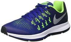 0fc013fd9f2c NIKE Zoom Pegasus 33 (GS) Running Trainers 834316 Sneakers Shoes Review
