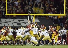 Kyle Brindza makes his fifth field goal vs USC