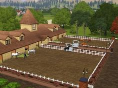 Sims 3 Realistic Horse | Sims Horse Ranch http://forum.thesims3.com/jforum/posts/list/15/417302 ...