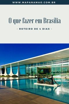 Veja neste post o que fazer em Brasília - roteiro de 4 dias completo. Places Around The World, All Over The World, Around The Worlds, Beautiful Places, Beautiful Pictures, Brazil Travel, Wander, Explore, Outdoor Decor