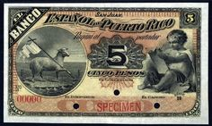 Puerto Rico – 5 pesos