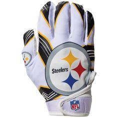 NFL Pittsburgh Steelers Franklin Receiver Gloves