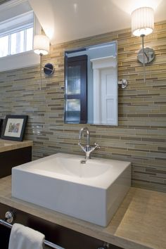 travertine glass tile bathroom design pictures remodel decor and ideas