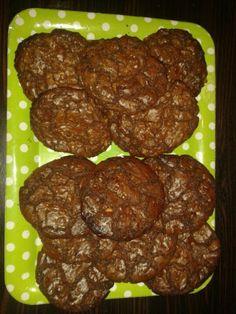 Triple chocolat cookies