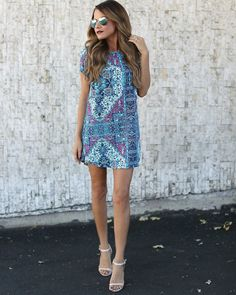 Cathedral Shift Dress