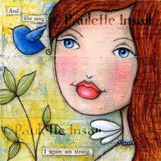 """I Again Am Strong"" - Original Fine Art for Sale - © Paulette Insall"
