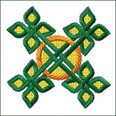 Celtic Ornament 4 embroidery design