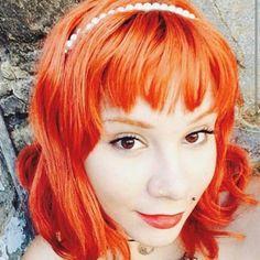 ruivaseruivos - @xgreymoon Koleston 77.44 Redheads, Red Hair, Orange, Instagram, Red Heads, Ginger Hair, Ginger Hair, Red Hair Color, Auburn Hair