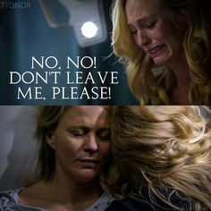"""""""Prayer For the Dying"""" - Caroline and her mom Liz The Vampire Diaries 3, Vampire Diaries The Originals, Caroline Forbes, The Cw, Prayers For The Dying, Evil Quotes, Cw Tv Series, The Salvatore Brothers, Dark Evil"""