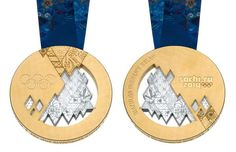 The Sochi gold medals have been unveiled and are much different than olympic medals from games past. What do you think of the Sochi Medals? Winter Olympic Games, Winter Games, Winter Olympics 2014, Usa Olympics, Maria Sharapova, Snorkeling, Olympic Gold Medals, Olympic Committee, Luge
