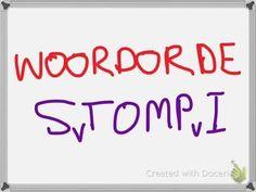 Afrikaans - Woordorde (Word Order) - STOMPI - YouTube