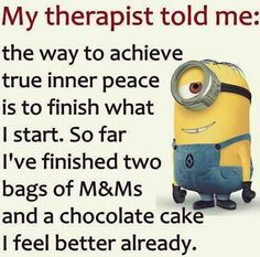 What my therapist told me..