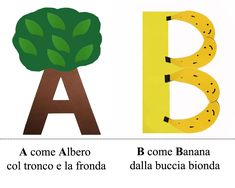 Learning Italian Through Vocabulary Abc Crafts, Letter A Crafts, Book Activities, Preschool Activities, Games For Kids, Art For Kids, Kid Games, Italian Alphabet, How To Speak Italian