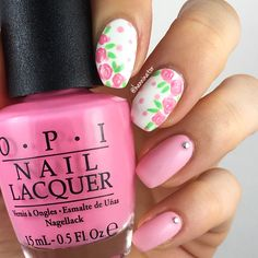 Dots and roses