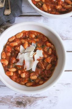 White Bean and Mushroom Stew | Recipe | Mushroom Stew, White Beans and ...