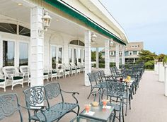A Gogel Auto Sales rePin. See us for used car purchase you can count on.   The Breakers Hotel - Spring Lake, NJ  Front Porch - view of the ocean.  Arlene from NJ