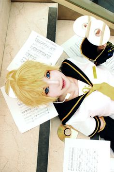 Perfect Len cosplay!!