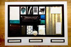 sitting room sample board