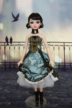 OOAK New Tonner Ellowyne Wilde Just in Time Partial Repaint Doll | eBay by Monalisa