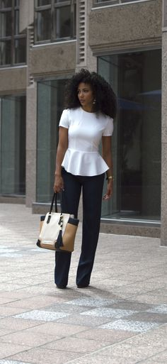 White Collar Glam Charlotte NC attorney outfit black attorney mixed girl p Business Professional Outfits, Professional Wardrobe, Business Casual Outfits, Work Wardrobe, Business Attire, Business Shirts, Casual Shirts, Women Business Casual, Corporate Outfits
