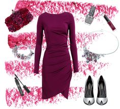"""Festive Fuchsia"" by buckley on Polyvore"