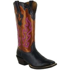 Ariat Women's Crossfire Caliente Western Boots -- Another pair I love in Weathered Brown