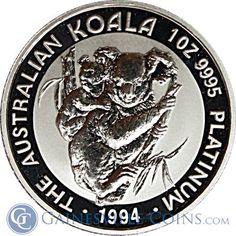 1 oz Australian #Platinum Koala