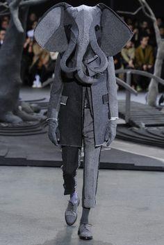 Thom Browne Men's RTW Fall 2014 - Slideshow - Runway, Fashion Week, Fashion Shows, Reviews and Fashion Images - WWD.com