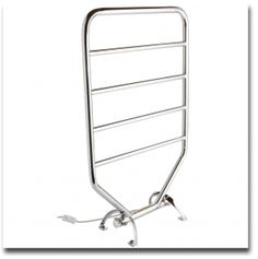 The Warmrails Traditional Wall Mounted/Free Standing Towel Warmer Rack by Jerdon features the perfect combination of style and performance, warming up even the coldest winter mornings. The rack is simple, ele Towel Warmer Rack, Heated Towel Bar, Thing 1, Wall Racks, Towel Rail, Traditional Bathroom, Bathroom Towels, Chrome Finish, Bathroom Accessories