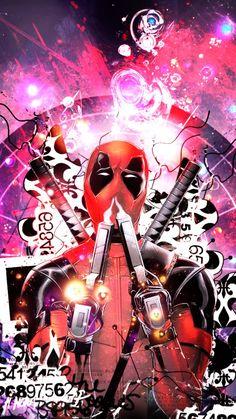 #Deadpool #Fan #Art. (Deadpool Phone Wallpaper) By:Juuzou-The-Ripper. ÅWESOMENESS!!!™ ÅÅÅ+