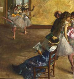Edgar Degas- Haha, I love the lady just sitting there with a newspaper! Edgar Degas- Haha, I love th Cassatt, Degas Paintings, Art Museum, Painter, Philadelphia Museum Of Art, Dance Art, Painting, Painting Reproductions, Art