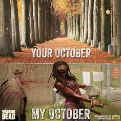 Soooo excited for the walking dead to come on it is almost time