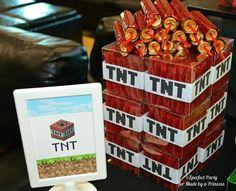 Minecraft Party Favor Ideas | Minecraft Party via Kara's Party Ideas Kara'sPartyIdeas.com #Minecraft ...