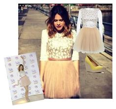 """""""Martina Stoessel Outfit"""" by violetta-forever ❤ liked on Polyvore featuring River Island, Nine West and Miss Selfridge"""