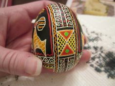 Ukrainian Easter Egg border-- #craftythings