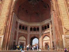 India, Agra. Jama Masjid, Fatehpur Sikri  is a mosque