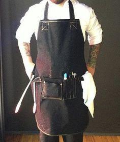 Search & Rescue Denim Co - Chef's Apron in black