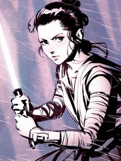 Star Wars: Episode VII - The Force Awakens - Rey... - Art Vault
