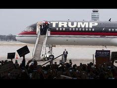 Donald Trump's $100 MILLION Boeing 747 - Donald Trump Plane Documentary - YouTube
