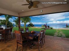 LHM Hawaii - 5+ Acre Estate With Ocean Views #LuxuryHomes #Backyard #Patio