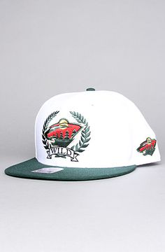 $25 #NHL Minnesota Wild Winners Circle Snapback in White and Forest - Use repcode SMARTCANUCKS for 10% off on #PLNDR - http://www.lovekarmaloop.com