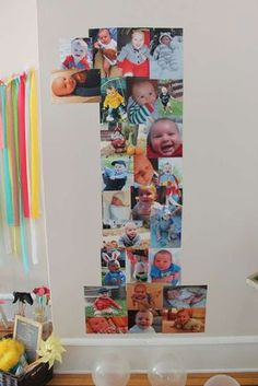 Theme-less Photo Funtastic First Birthday Party | CatchMyParty.com