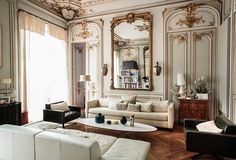 Gilded Glamour: The Parisian Apartment
