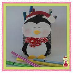 Stúdio E.V.A.: Pinguim de Natal... brrrr que frio!