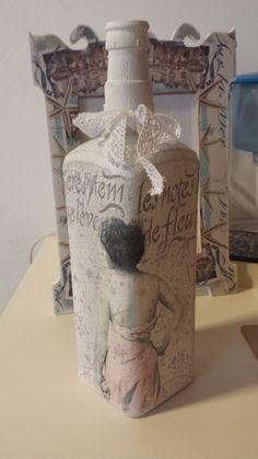 Decorative - Bottle - Lamp Handmade Decorations, Different Colors, Unique Gifts, Ornaments, Bottle, Pattern, Home Decor, Flask, Interior Design
