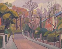 Cambrian Road, Richmond. Spencer Frederick Gore. 1913-1914.