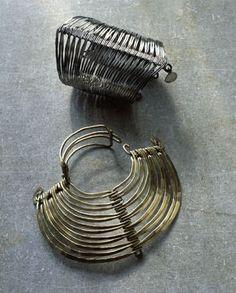Bracelets, c. 1940-45, by the sculptor Alexander Calder (1898-1976)
